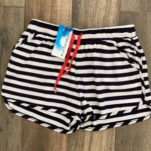 Brand new with tags navy striped shorts!